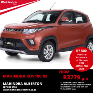 Mahindra KUV100 K8