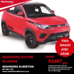 Mahindra KUV100 K2 #DARE