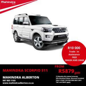 Mahindra Scorpio S11