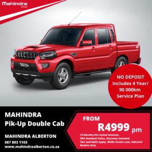 Mahindra Pik-Up - Double Cab